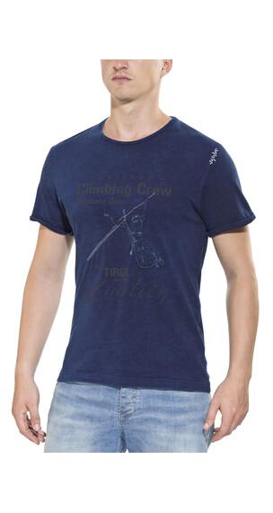 Chillaz Street Climbing Crew - Camiseta manga corta Hombre - azul